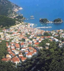 View of Picturesque Parga Town (Preveza Prefecture) Vacation