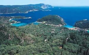 Corfu of the Green and Blue Vacation